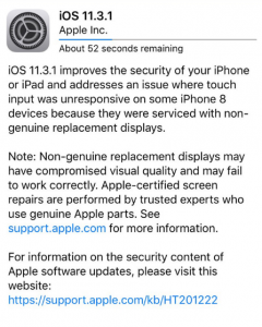 what's new in iOS and fixes