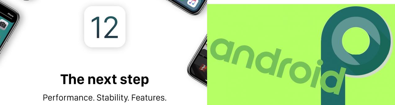 Android Pie vs ios