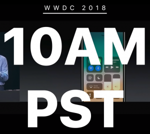 WWDC Starting time