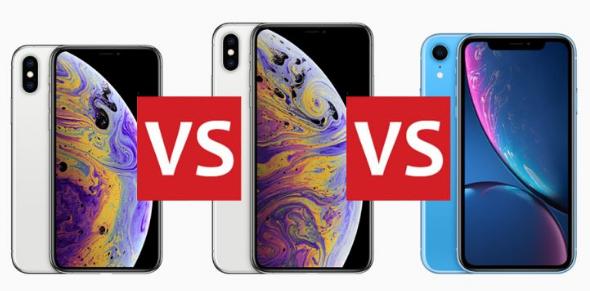 iPhone XS/XS Max vs iPhone XR Comparison